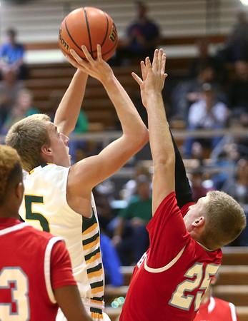 1-8-16<br /> Eastern vs Maconaquah boys basketball<br /> Eastern's Tristen Moyers<br /> Kelly Lafferty Gerber | Kokomo Tribune