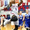 1-19-16<br /> Kokomo vs Tipton girls basketball<br /> Kokomo's Quaynika Merrieweather<br /> Kelly Lafferty Gerber | Kokomo Tribune
