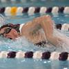 1-26-16 NWHS vs WHS swim meet<br /> Western's Grace Lupoi in the 50 Y Freestyle<br /> Kelly Lafferty Gerber | Kokomo Tribune