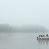Kids Fishing Clinic  participants fish during a foggy morning at the Kokomo Reservoir on Saturday, July 30, 2016.<br /> Kelly Lafferty Gerber | Kokomo Tribune