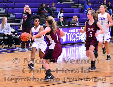 2016 JV Lady Tigers vs Cooper Lady Mustangs 12/19/2016