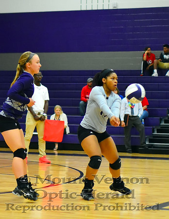Mount Vernon Varsity Lady Tigers vs Chapel Hill Lady Devils Volleyball photos