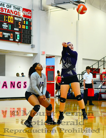 Mount Vernon Varsity Lady Tigers vs Queen City Lady Bulldogs Volleyball photos