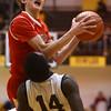 3-4-16<br /> Maconaquah vs Western boys sectional bball<br /> Maconaquah's Chandler Pitts<br /> Kelly Lafferty Gerber | Kokomo Tribune