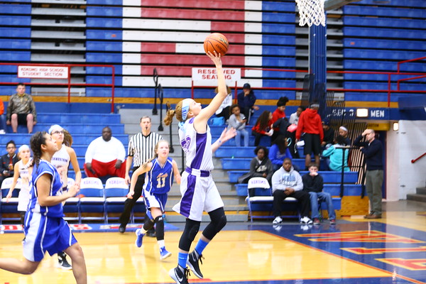 The city county 8th grade  basketball tournament between Kokomo and Northwestern at Memorial Gym on March 21, 2016.<br /> Tim Bath   Kokomo Tribune