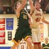 3-5-16<br /> Eastern vs Taylor boys basketball sectional championship<br /> Eastern's Jacob Kinder and Taylor's Donovan Renbarger<br /> Kelly Lafferty Gerber | Kokomo Tribune