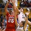 3-4-16<br /> Maconaquah vs Western boys sectional bball<br /> Maconaquah's Luke Hann<br /> Kelly Lafferty Gerber | Kokomo Tribune