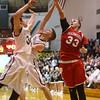 3-4-16<br /> Maconaquah vs Western boys sectional bball<br /> Maconaquah's Wyatt Hughes takes the rebound from Western's Kaleb Howard and Josh Beeler.<br /> Kelly Lafferty Gerber | Kokomo Tribune