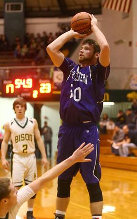 3-4-16<br /> Northwestern boys sectional bball<br /> Northwestern's Trey Richmond<br /> Kelly Lafferty Gerber | Kokomo Tribune