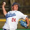 3-29-16<br /> Kokomo vs Huntington North baseball<br /> Kokomo's Chase Pearce pitches.<br /> Kelly Lafferty Gerber | Kokomo Tribune