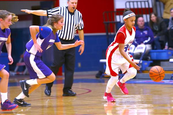 The city county 7th grade  basketball tournament between Kokomo and Northwestern at Memorial Gym on March 21, 2016.<br /> Tim Bath | Kokomo Tribune