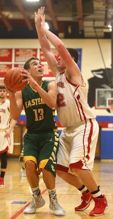 3-5-16<br /> Eastern vs Taylor boys basketball sectional championship<br /> <br /> Kelly Lafferty Gerber   Kokomo Tribune