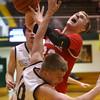 3-4-16<br /> Maconaquah vs Western boys sectional bball<br /> Maconaquah's Wyatt Hughes<br /> Kelly Lafferty Gerber | Kokomo Tribune