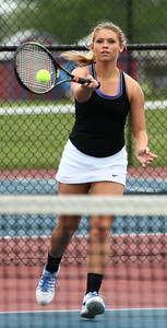 5-20-16 Northwestern's 3 singles Morgan Mercer Kelly Lafferty Gerber | Kokomo Tribune