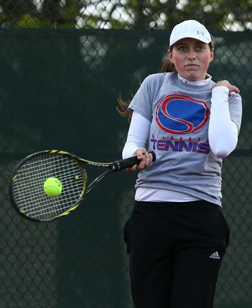 5-4-16 Kokomo girls tennis 1 singles Rachel Stout Kelly Lafferty Gerber | Kokomo Tribune