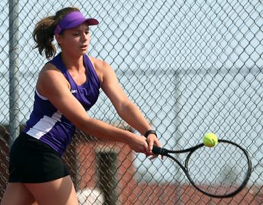 5-6-16 Western vs Northwestern girls tennis Northwestern 2 singles Allison Miller Kelly Lafferty Gerber | Kokomo Tribune
