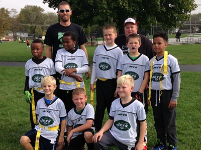 2016 NICK'S JETS, FLAG FOOTBALL CHAMPS