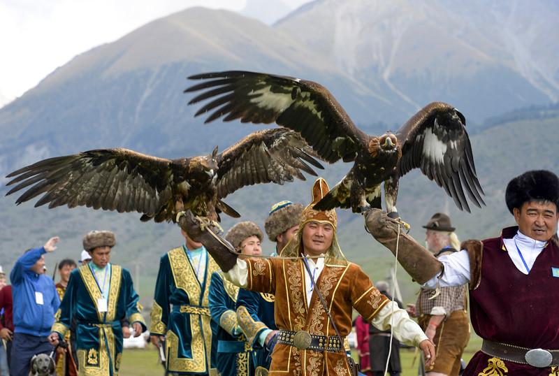 APTOPIX Kyrgyzstan Nomad Games