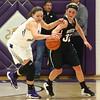 11-22-16<br /> Northwestern vs Western girls basketball<br /> NW's Kendall Bostic steals the ball from Clara Braswell.<br /> Kelly Lafferty Gerber | Kokomo Tribune