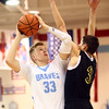 11-29-16<br /> Maconaquah boys basketball<br /> Wyatt Hughes shoots.<br /> Kelly Lafferty Gerber   Kokomo Tribune