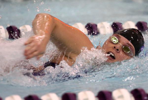 11-17-16<br /> Northwestern girls swimming<br /> Kayla Campbell in the 200 Yard Medley Relay<br /> Kelly Lafferty Gerber   Kokomo Tribune