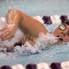 11-17-16<br /> Northwestern girls swimming<br /> Kayla Campbell in the 200 Yard Medley Relay<br /> Kelly Lafferty Gerber | Kokomo Tribune