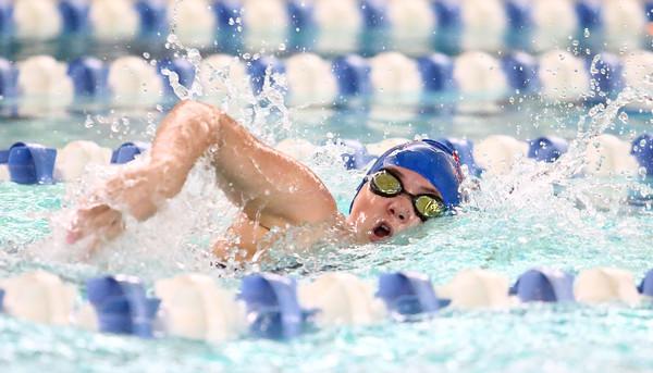 11-15-16<br /> Kokomo vs Western girls swimming<br /> Kokomo's Jessic Estep in the 100 Yard Freestyle<br /> Kelly Lafferty Gerber   Kokomo Tribune