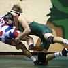 11-30-16<br /> Eastern vs Kokomo wrestling<br /> Kokomo's James Bufkin and Eastern's Garrett Hetzner<br /> Kelly Lafferty Gerber | Kokomo Tribune