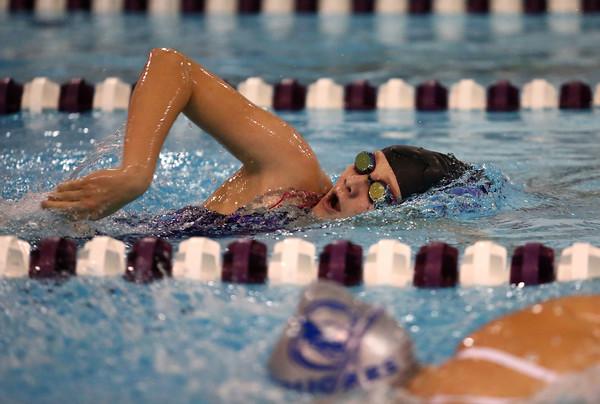 11-17-16<br /> Northwestern girls swimming<br /> Livi Hale in the 200 Yard Freestyle<br /> Kelly Lafferty Gerber   Kokomo Tribune