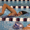 11-17-16<br /> Northwestern girls swimming<br /> Livi Hale in the 200 Yard Freestyle<br /> Kelly Lafferty Gerber | Kokomo Tribune