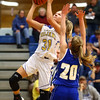 11-10-16<br /> Tri Central vs Tipton girls basketball<br /> Tri Central's Emily Richard puts up a shot.<br /> Kelly Lafferty Gerber | Kokomo Tribune