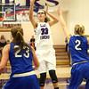 11-12-16<br /> Northwestern vs Carroll girls basketball<br /> Northwestern's Madison Layden shoots.<br /> Kelly Lafferty Gerber | Kokomo Tribune