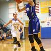 11-10-16<br /> Tri Central vs Tipton girls basketball<br /> Tipton's Cassidy Crawford shoots.<br /> Kelly Lafferty Gerber | Kokomo Tribune