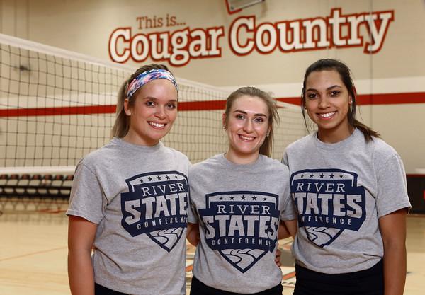 IUK volleyball senior players<br /> Kelly Lafferty Gerber   Kokomo Tribune