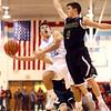 11-29-16<br /> Maconaquah boys basketball<br /> Robert Dunham looks to shoot around Rochester.<br /> Kelly Lafferty Gerber   Kokomo Tribune