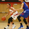 11-9-16<br /> Taylor vs Kokomo girls basketball<br /> Taylor's Asia Stabler tries to get around Kokomo's Brittany Barnard.<br /> Kelly Lafferty Gerber | Kokomo Tribune
