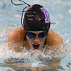 11-17-16<br /> Northwestern girls swimming<br /> Sophie Yager-Motl in the 200 Yard Medley Relay<br /> Kelly Lafferty Gerber | Kokomo Tribune