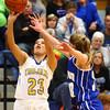 11-10-16<br /> Tri Central vs Tipton girls basketball<br /> Tri Central's Sarah Quesada shoots.<br /> Kelly Lafferty Gerber | Kokomo Tribune