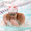 11-15-16<br /> Kokomo vs Western girls swimming<br /> Kokomo's Madison Cleaver in the 200 Yard IM<br /> Kelly Lafferty Gerber | Kokomo Tribune