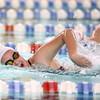 11-15-16<br /> Kokomo vs Western girls swimming<br /> Western's Sophia Pate in the 500 Yard Freestyle<br /> Kelly Lafferty Gerber | Kokomo Tribune