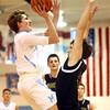 11-29-16<br /> Maconaquah boys basketball<br /> Chandler Pitts shoots.<br /> Kelly Lafferty Gerber   Kokomo Tribune