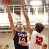 11-26-16<br /> Taylor vs Cass boys basketball<br /> Cass' Kace Kitchel goes up to the basket.<br /> Kelly Lafferty Gerber | Kokomo Tribune
