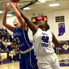 11-12-16<br /> Northwestern vs Carroll girls basketball<br /> Northwestern's Kora Loer and Carroll's Megan Herr go after a rebound.<br /> Kelly Lafferty Gerber | Kokomo Tribune