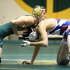 11-30-16<br /> Eastern vs Kokomo wrestling<br /> Kokomo's Rafael Lopez and Eastern's Tytus Morrisett<br /> Kelly Lafferty Gerber | Kokomo Tribune