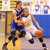 11-10-16<br /> Tri Central vs Tipton girls basketball<br /> Tri Central's Emily Richard and Tipton's Cassidy Crawford go after a loose ball.<br /> Kelly Lafferty Gerber | Kokomo Tribune