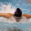 11-17-16<br /> Northwestern girls swimming<br /> Lexie Parrott in the 200 Yard Medley Relay<br /> Kelly Lafferty Gerber | Kokomo Tribune