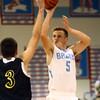 11-29-16<br /> Maconaquah boys basketball<br /> Ethan Larason shoots.<br /> Kelly Lafferty Gerber   Kokomo Tribune