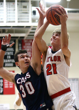 11-26-16<br /> Taylor vs Cass boys basketball<br /> <br /> Kelly Lafferty Gerber   Kokomo Tribune