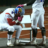 11-11-16<br /> Kokomo vs Westfield regional football<br /> Kokomo's Austin Bova is consoled by teammate Steved Edwards as the clock winds down in the fourth quarter.<br /> Kelly Lafferty Gerber | Kokomo Tribune