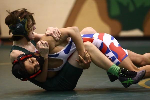 11-30-16<br /> Eastern vs Kokomo wrestling<br /> Eastern's Ethan Duchateau and Kokomo's Quentin Nix<br /> Kelly Lafferty Gerber | Kokomo Tribune